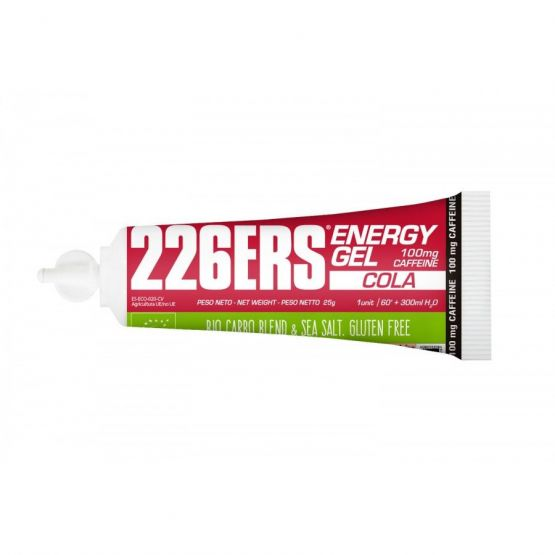 226ERS ENERGY GEL COLA CON 100 MG DE CAFEINA - 1 GEL x 25 GR